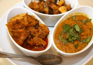 Curry Dishes from L'Aroma